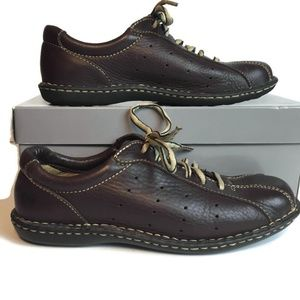 Born Leather Oxford Sneakers Shoes Working Casual